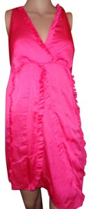 INC International Concepts short dress dark pink on Tradesy