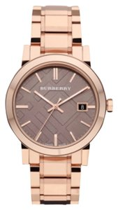 Burberry BRAND NEW Burberry Rose Gold-Tone Stainless Steel Bracelet 38mm BU9005