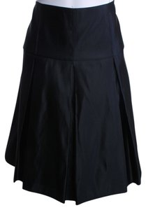 Nanette Lepore Silk Skirt BLACK