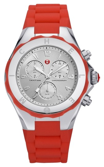 Preload https://item2.tradesy.com/images/michele-coral-silver-jelly-bean-mww12f000048-watch-5252866-0-0.jpg?width=440&height=440