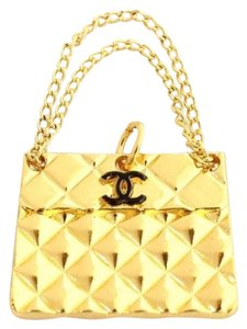 Chanel BEST PRICE!! Chanel Quilted Handbag Pendant/Charm