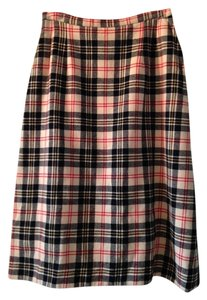 Skirt Off-white Tartan