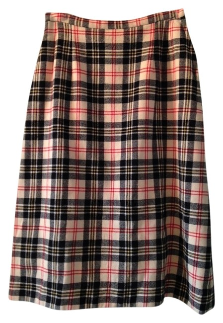 Other Skirt Off-white Tartan
