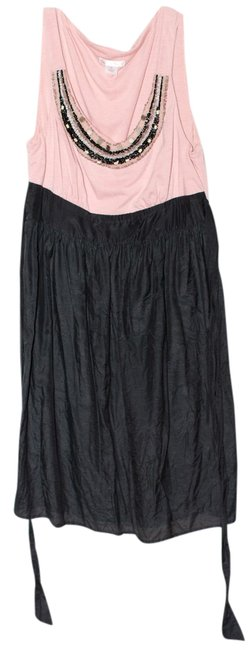 Xhilaration short dress Black/Blush on Tradesy