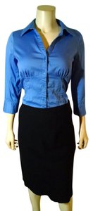 Apt. 9 Size Small P1583 Button Down Shirt Blue