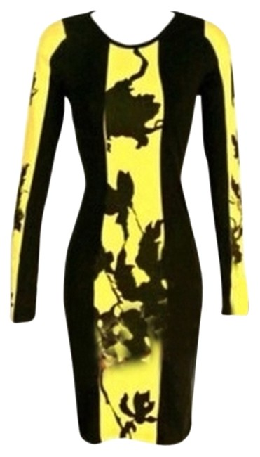 Other short dress Black & Yellow on Tradesy