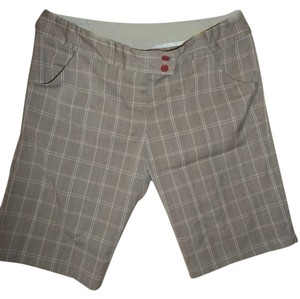 Full Tilt Bermuda Shorts Brown Pattern