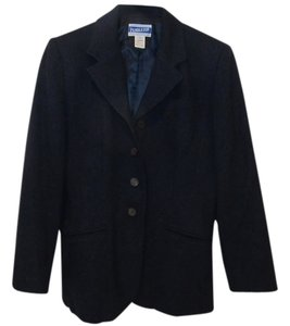 Pendleton Wool Navy Dark Professional Work Office Quality All Wool Virgin Wool All Wool Wool 100 Percent Wool 100% Wool 100% Wool Navy Blue Blazer