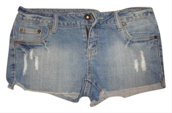 Blue Asphalt Mini/Short Shorts denim