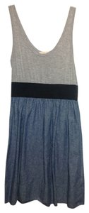 short dress Denim Blue/Gray/Black on Tradesy