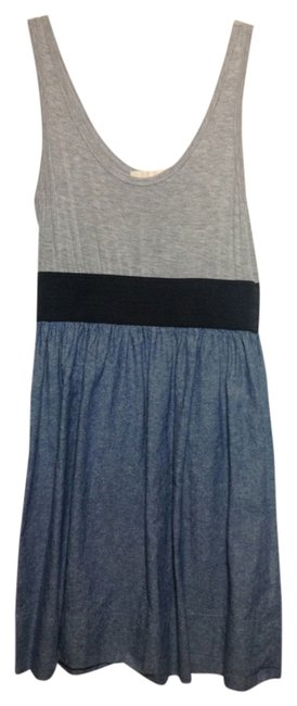 Preload https://item3.tradesy.com/images/denim-bluegrayblack-above-knee-short-casual-dress-size-4-s-525557-0-0.jpg?width=400&height=650