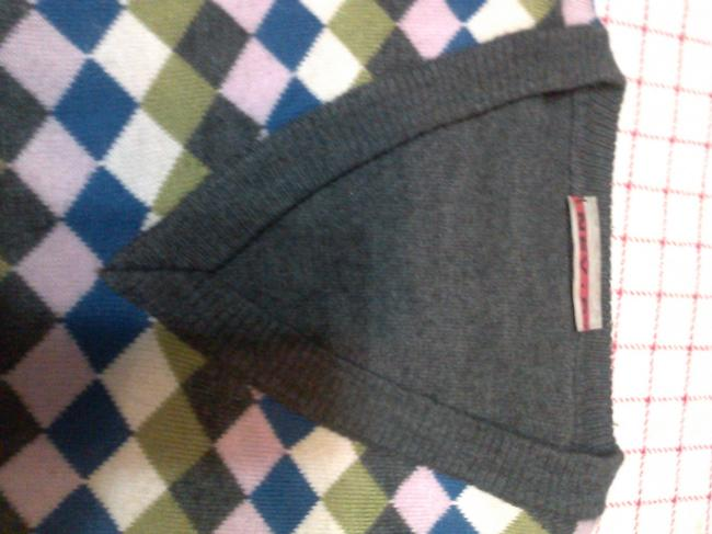 NEV.RI Casual Classic Wool Holiday Leather Sweater