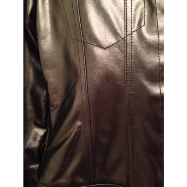 Ralph Lauren Dark grey Leather Jacket