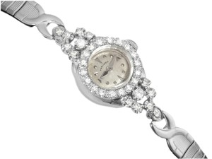 Hamilton 1960's Vintage Ladies Hamilton - 14K White Gold & Diamonds