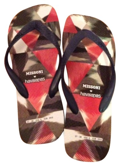 Missoni for Havainas Navy blue Sandals