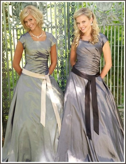 EnVogue Bridal Charcoal 902m Prom/bridesmaid/evening Modest Dress Dress