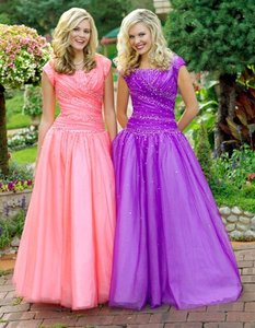 EnVogue Bridal Purple P9125 Prom/evening Modest Dress