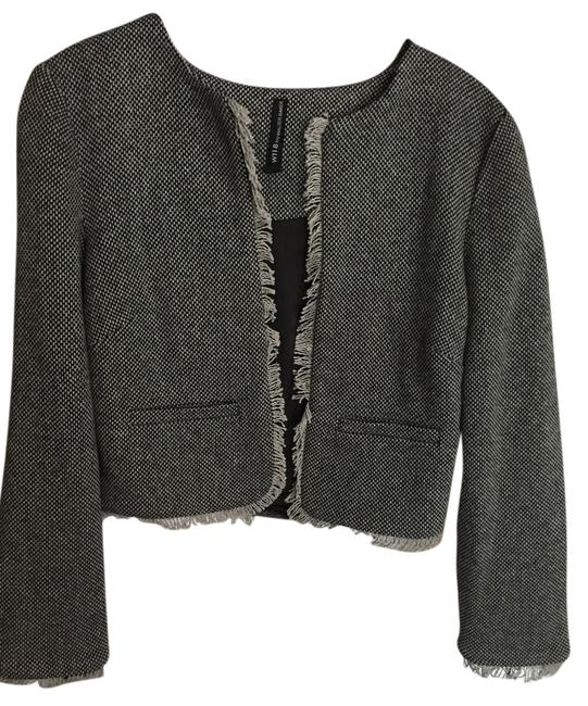 W118 by Walter Baker Cute Tweed gray Jacket