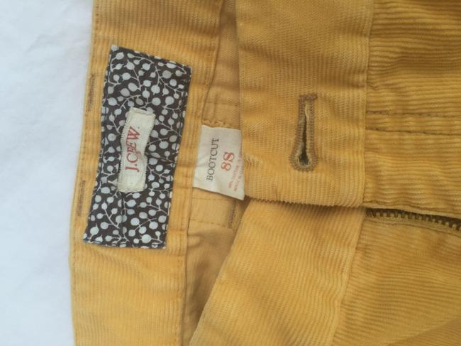 J.Crew Boot Cut Pants Golden Yellow