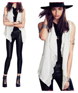 Free People Ruffle Sleeveless Vest