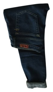 AG Adriano Goldschmied Cute Cigarette Straight Leg Jeans-Dark Rinse