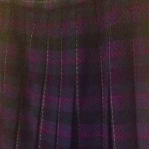 Pendleton Virgin Wool 6 Small 28 Small Sm S S Plaid Plaid Pleats Pleats Wool Wool All Wool Classic Traditional Classic Quality Skirt