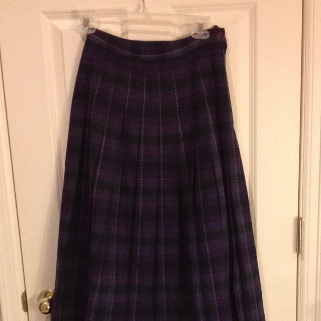 Pendleton Pure Virgin Wool 6 Small 28 Small Sm S S Plaid Plaid Pleats Pleats Wool Pure Wool All Wool Classic Traditional Classic Skirt