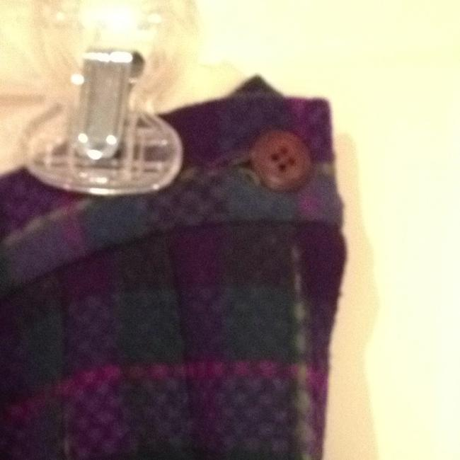 Pendleton Pure Virgin Wool 6 Small 28 Small Sm S S Plaid Plaid Pleats Pleats Wool Pure Wool All Wool Classic Traditional Classic Skirt purple mixed