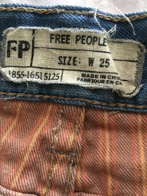 Free People Cut Off Shorts denim washed out