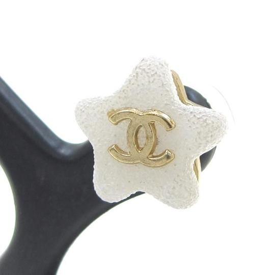 Chanel Authentic Chanel Star Earrings 03A
