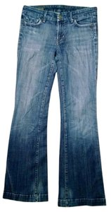 Citizens of Humanity Size 28 Trouser/Wide Leg Jeans-Medium Wash