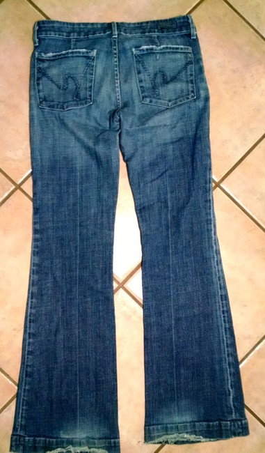Citizens of Humanity Size 28 #003 P1588 Trouser/Wide Leg Jeans-Medium Wash