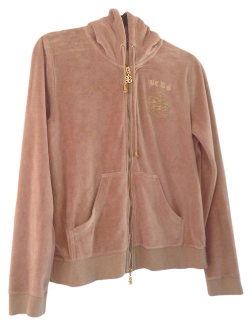 Item - Tan and Gold Sweatshirt/Hoodie Size 12 (L)