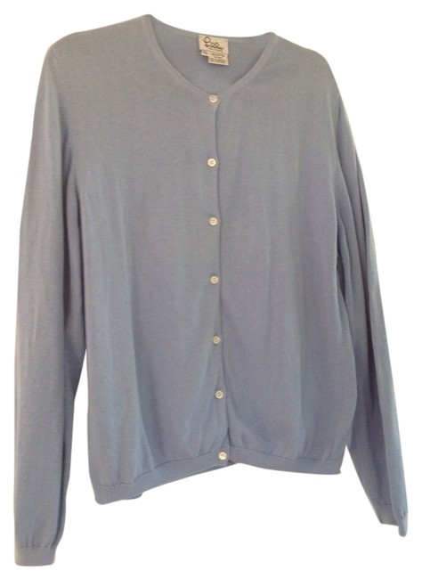 Preload https://item3.tradesy.com/images/lilly-pulitzer-light-blue-cotton-sweater-button-down-top-size-16-xl-plus-0x-5258347-0-0.jpg?width=400&height=650
