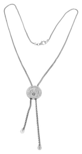 Other BRAND NEW, Ladies White Gold Diamond Ball Necklace