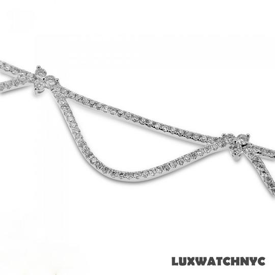Other Ladies White Gold Necklace with White Diamonds