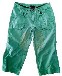 Diesel Cargo Cropped Capris Size 26 Capri/Cropped Pants Green