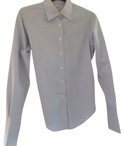 Brooks Brothers Top Blue