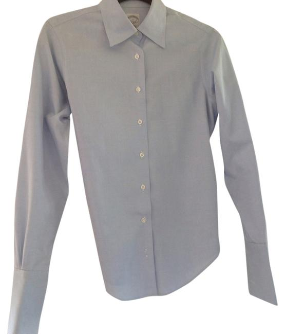 Preload https://item4.tradesy.com/images/brooks-brothers-blue-bros-blouse-size-2-xs-5258533-0-0.jpg?width=400&height=650