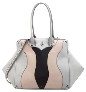 Coxy Satchel in Multicolor Ash Nude Black