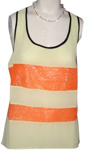 BILLY by FLYING TOMATO Top Yellow, Orange, Black