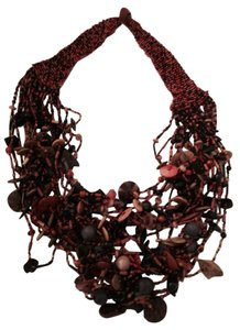 Made in Afrika Afrikan neckpiece with hand beading