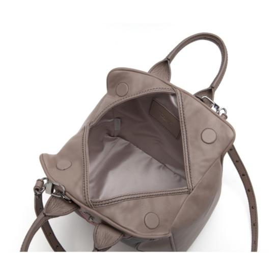 Coxy Satchel in Multicolor Taupe Black Red