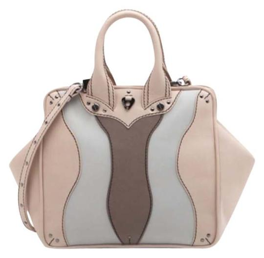 Coxy Satchel in Multicolor Nude Taupe Ahs