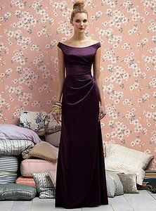 Lela Rose Eggplant Lr177 Dress