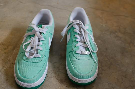 Nike Airforce1 Af1 Teal Athletic