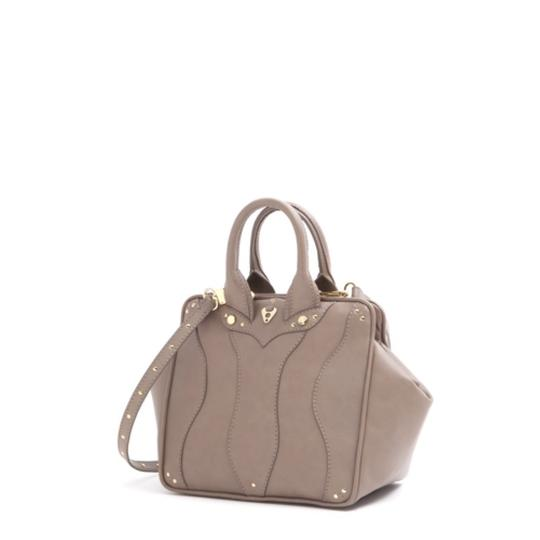 Coxy Satchel in Taupe