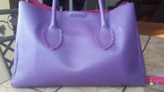 Furla Handbags Leather Saffianio Hobo Satchel in Purple