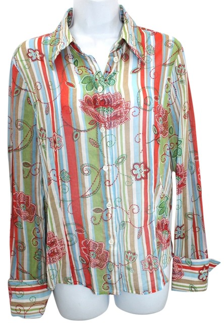 Preload https://item3.tradesy.com/images/escada-multicolor-cotton-blouse-40-button-down-top-size-6-s-5260627-0-0.jpg?width=400&height=650