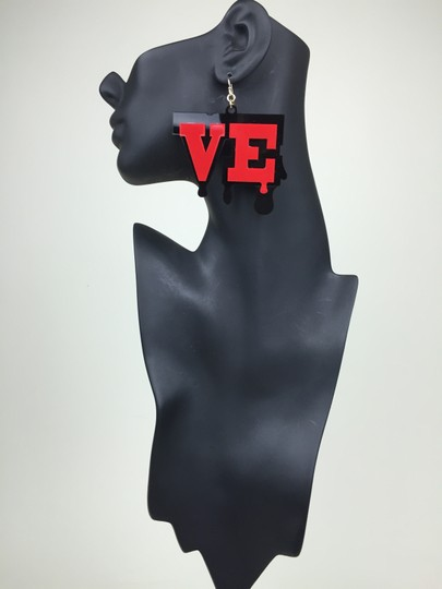 Other Dripping Love Earrings